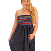Plus Size  Blue finders Keepers Dress