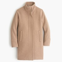 Stadium-cloth cocoon coat : Women wool | J.Crew