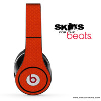 Red Jersey Texture Skin for the Beats by Dre
