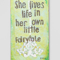 Own Little Fairytale Wall Decor