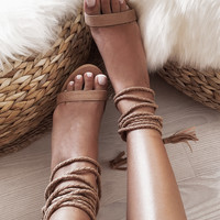 Bally Heels - Sand - Shoes by Sabo Skirt