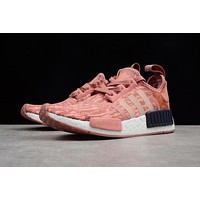 Adidas NMD R1 Boost PINK Women Running Sneaker BY9865