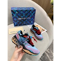 lv womens mens 2020 new fashion casual shoes sneaker sport running shoes 5