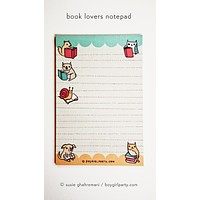 Book Lovers Notepad - Book Lover Gift