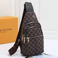 Louis Vuitton LV Canvas Chest Bag Waist Bag Shoulder Bag