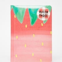 Paperchase | Paperchase Nice Slice Casebound Strawberry Notebook at ASOS