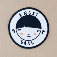 Angst Gang embroidered patch