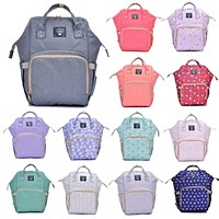 Nappy diaper bag Mummy Maternity Nappy Bag Large Capacity Baby Travel Backpack Desinger Nursing Bags for Baby Care bags D3