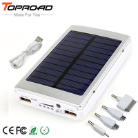 Solar Charger Power Bank 12000MAH Portable Charging Powerbank External Battery Chargers bateria externa For iPhone Mobile phones
