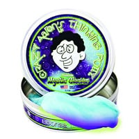 "Crazy Aaron's Thinking Putty- Mystic Glacier 4"" Tin"