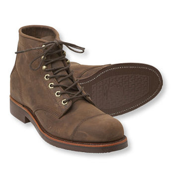 Men's Katahdin Iron Works Engineer Boots: Casual Boots | Free Shipping at L.L.Bean