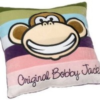 Bobby Jack Groovy Stripes 16-Inch Plush Decorative Pillow