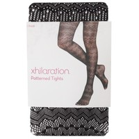 Xhilaration® Juniors Patterned Tights - Assorted Colors/Patterns
