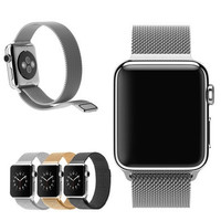 38mm 42mm Milanese Magnetic Loop Stainless Steel Watch Band Strap For Apple Watch [9222605380]