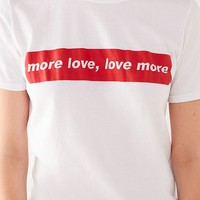 Cooperative More Love Tee | Urban Outfitters