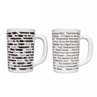 Banned Books Morph Mug | book accessories, coffee mug