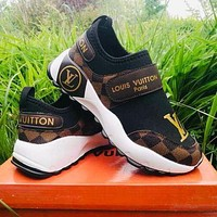 LV Louis Vuitton Classic Lazy Shoes Fashion Ladies Casual Sneakers 2