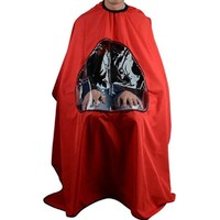 Salon Barber Hair Cutting Cape Hairdresser Gown Stylist Viewing Window Gown Hot