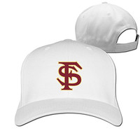 Yesher Tactical Florida State University - FSU Logo Baseball Cap - Adjustable Hat - White
