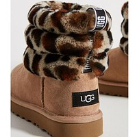 UGG classic hot sale mid-tube button snow boots men and women boots Shoes