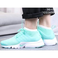 NIKE AIR PRESTO men's and women's tide brand fashion casual wild sneakers F-CSXY Mint Green