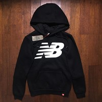New Balance/NB Women Fashion Hooded Top Sweater Pullover Sweatshirt Hoodie-1