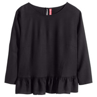 Ruffled Blouse - from H&M