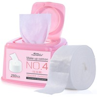 LAMEILA 250PCS Cosmetic Cotton Pads Facial Tissue Cleaning Pad Makeup Remover Wipes Nail Polish Remover Organic demaquilante