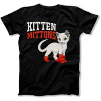 Kitten Mittons - T Shirt