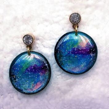 GALAXY CIRCLE EARRING