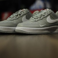 [Free Shipping ] Nike Air Force 1 07 Mini Swoosh Basketball Sneakers