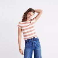 Musical Tee in Rugby Stripe
