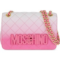 MOSCHINO - Quilted leather shoulder bag | Selfridges.com