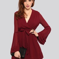 Charmed Bell Sleeve Dress - What's New   GYPSY WARRIOR