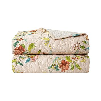 Bagatelle Quilted Coverlet by Yves Delorme