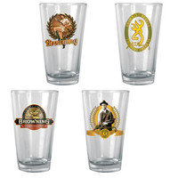 Browning Pint Glass Set (4pk)