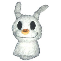 """disney parks nightmare before christmas 7"""" round baby zero plush new with tag"""