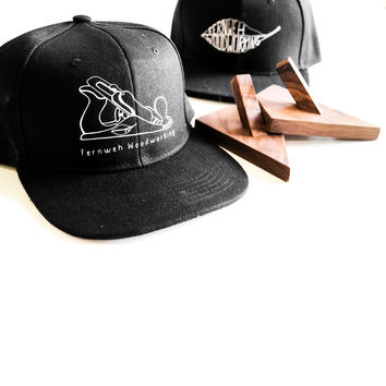 Snap-Back Fernweh Woodworking Hat