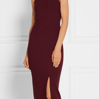 Elizabeth and James - Ritter stretch-ponte midi dress