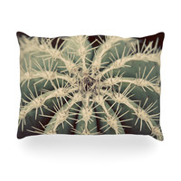 """Angie Turner """"Cactus"""" Plant Oblong Pillow"""