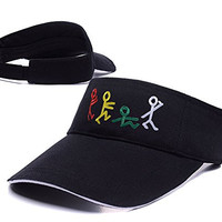 ZHHUA A Tribe Called Quest Band Logo Adjustable Embroidery Tennis Golf Baseball Hat Sun Visor Cap