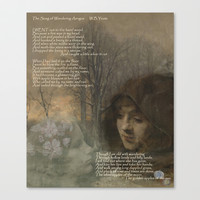The Song of Wandering Aengus Stretched Canvas by anipani