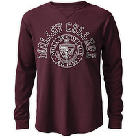 Molloy College Watch Hill Waffle Long Sleeve T-Shirt | Molloy College