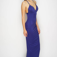 Claire Dress - Navy