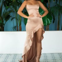 Hot style sells sexy halter dresses with slit backs