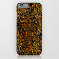 Aztec Elephant with floral Pattern iPhone 4 4s 5 5c 6, pillow case, mugs and tshirt iPhone & iPod Case by Three Second