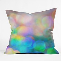 Lisa Argyropoulos Color Me Happy Throw Pillow