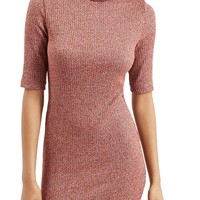 Topshop Ribbed Turtleneck Dress | Nordstrom