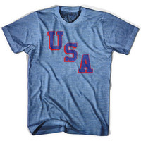 USA Miracle T-shirt, Athletic Blue