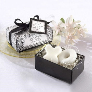 Cute Creative Scented XO Shaped Soap Wedding Favors Gift Party Baby Shower Box (Size: 9.5cm x 5cm x 3cm) = 1933205316